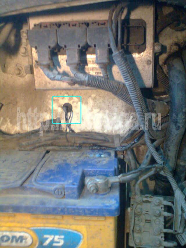 A91 Gazel 21 - Схема подключения центрального замка на газель бизнес