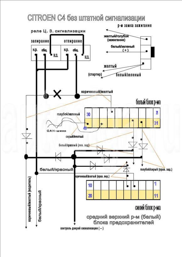 Схема центрального замка ауди фото 787
