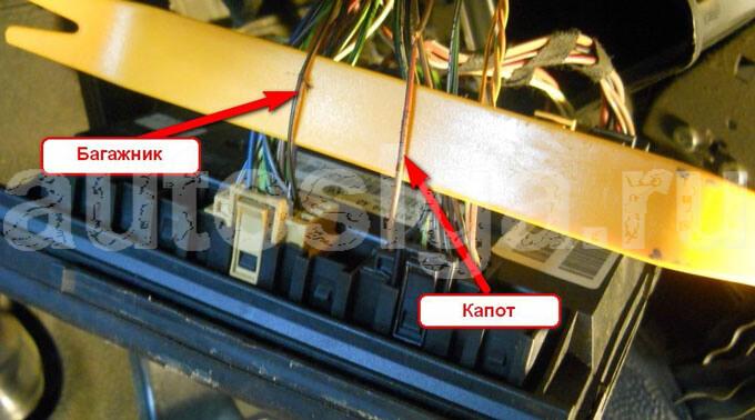 Т4 Фольксваген Точки Подключения Сигнализации