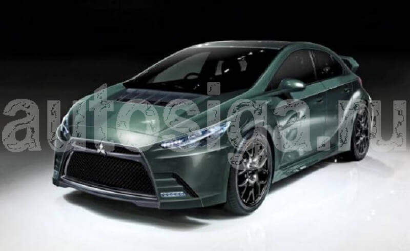 Mitsubishi Lancer Evolution Final Concept