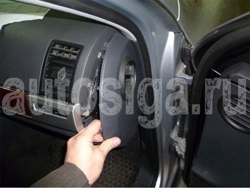 на VW Touareg 2008