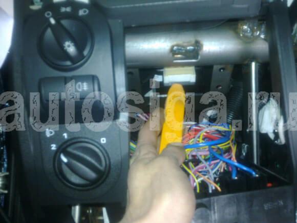 Калина установка сигнализации с автозапуском своими руками
