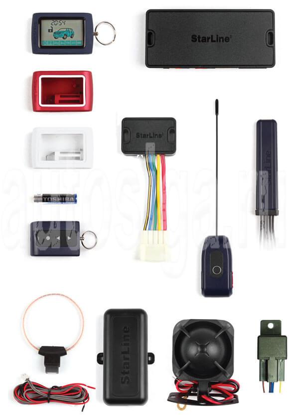 StarLine D94 GSM. Основные функции системы.